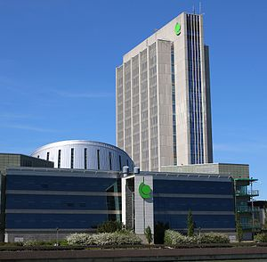Fortum - Headquarters of Fortum Corporation in Espoo, Keilaniemi, Finland