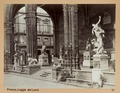 Fotografi av Loggia dei Lanzi i Florens - Hallwylska museet - 102997.tif