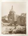 Fotografi på Absalom kolonn, Jerusalem 1901 - Hallwylska museet - 104403.tif