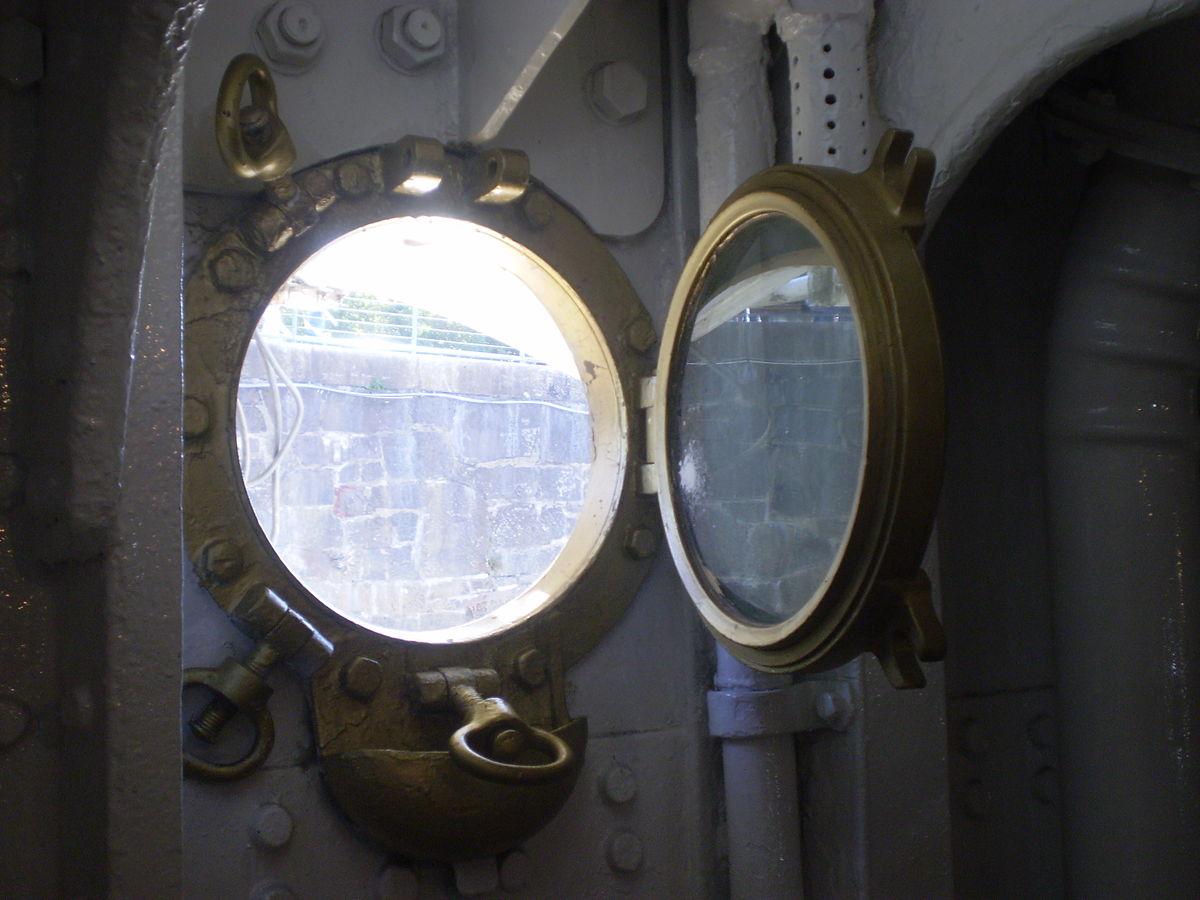 #455486 Vigia (náutica) – Wikipédia a enciclopédia livre 272 Janelas De Vidro Redonda