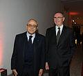 """Francesco Gaetano Caltagirone alla festa di restyling de """"Il Messaggero""""..jpg"""