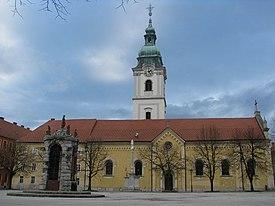 Franjevački samostan i Crkva Presvetog Trojstva Karlovac.jpg