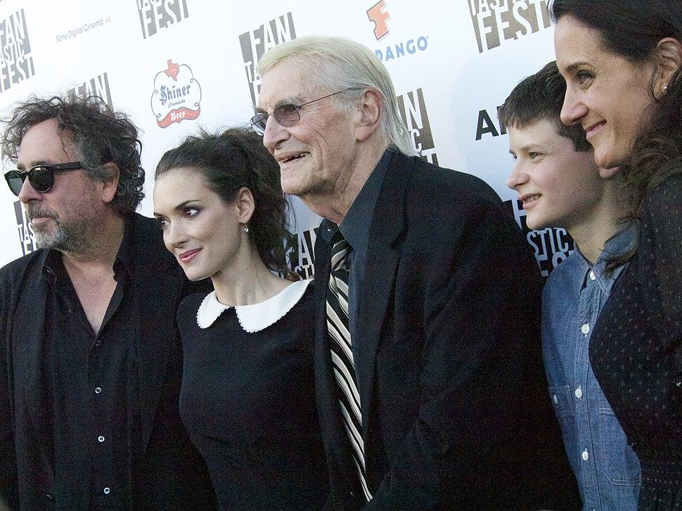 Frankenweenie premiere at the Fantastic Fest, Tim Burton, Winona Ryder, Martin Landau, Charlie Tahan 2