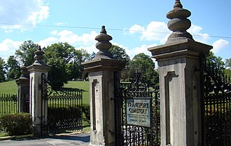 Frankfort Cemetery - Entrance to Frankfort Cemetery