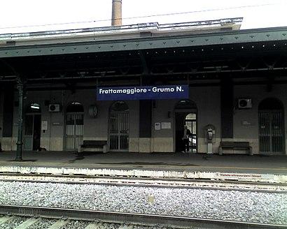 Come arrivare a Stazione Di Frattamaggiore con i mezzi pubblici - Informazioni sul luogo