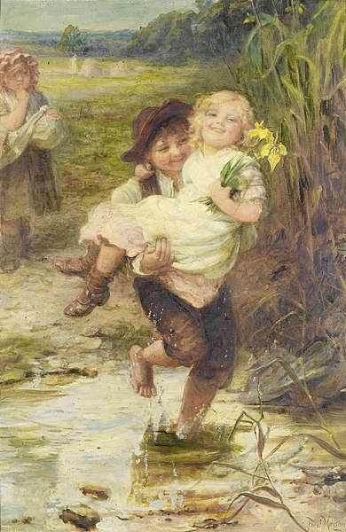 390px-Frederick_Morgan_-_The_young_gallant.jpg (390×600)