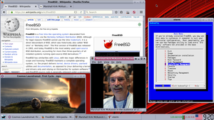 FreeBSD - Screenshot of FreeBSD 11.0