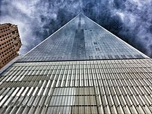 Perfect When Viewed From Street Level In Proximity To The Tower, One World Trade  Center Appears To Ascend To A Pyramid Point.