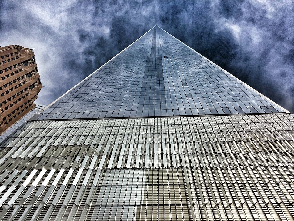 Freedom Tower, June 8, 2014, West Side Street View (2)