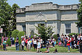 Freeport Memorial Library, Freeport, NY, Memorial Day 2010.jpg