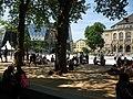 Freigabe des umgebauten Platzes der Alten Synagoge in Freiburg am 2. August 2017 2.jpg