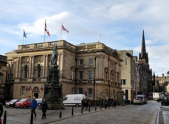 French Institute for Scotland - The Institute, located within the French consulate on Edinburgh's Royal Mile.