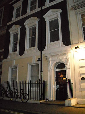 Frenzy - 3 Henrietta Street in Covent Garden was the flat of the 'Necktie Strangler', Robert Rusk