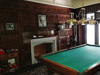 New York Friars Club - The William B. Williams Room, on the third floor of the Friars Club