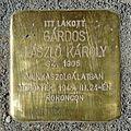Gárdos LászLó Károly stolperstein (Budapest-13 Balzac u 44b).jpg