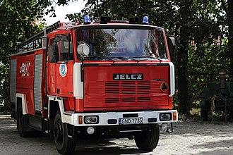 Jelcz - Image: GCBA 5 24 Jelcz P422 of OSP Krynica Morska