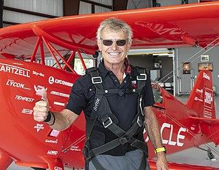 Sean D. Tucker American aerobatic pilot