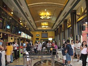 Golden Village - Golden Village, Grand Great World ticketing hall.