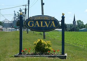 Galva, Illinois - Image: Galva, Illinois