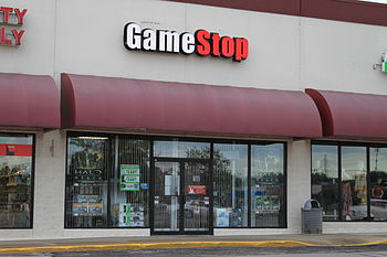 English: GameStop store, 2423 Ellsworth Road, ...