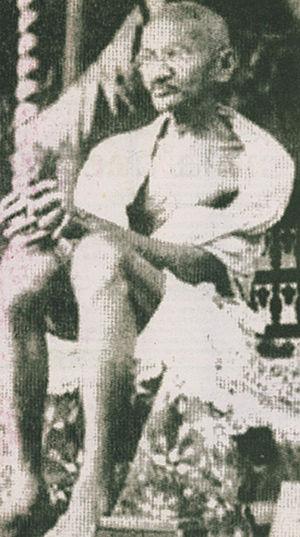 Kottayam - Image: Gandhi at vaikom satyagraha 2
