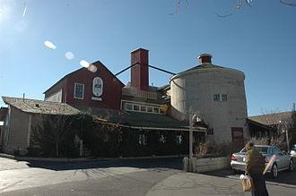 West Jordan, Utah - The historic Gardner Mill is now part of the Gardner Village shopping center.
