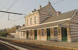 Watermael railway station railway station in Belgium
