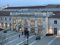 Gare de Valence-Ville en fin de soirée (janvier 2021).jpg