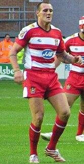 Gareth Hock former GB & England international rugby league footballer