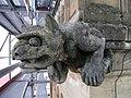 Gargouille de la tour sud de collégiale de Neuchâtel.jpg