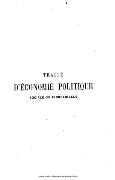 File:Garnier - Traité d'économie politique sociale et industrielle.djvu