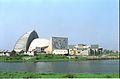 Gate Complex And Convention Centre Complex Under Construction - Science City - Calcutta 1996-02-21 990.JPG