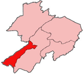 Gbarma District - Location of Gbarma District in Gbarpolu County