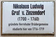 Gedenktafel am Haus Schloßstraße 26, in der Lutherstadt Wittenberg (Quelle: Wikimedia)
