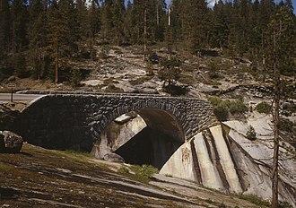 Generals Highway - Clover Creek Bridge spanning Clover Creek on Generals Highway