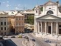 Genova, Piazza della Nunciata e Basilica Santissima Annunziata del Vastato (2007).jpg