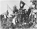 George Carr Round with friends on Kennesaw Mountain, 1913 (Hold the Fort!, Scheips).jpg
