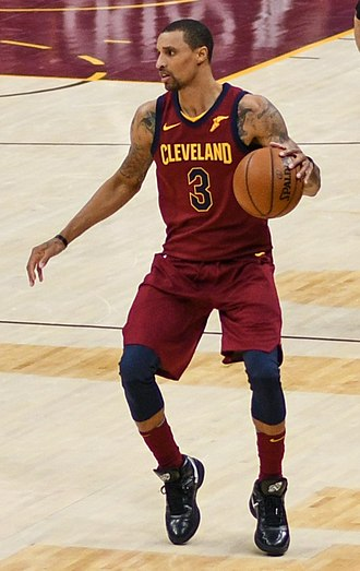 George Hill (basketball) - Hill with the Cavaliers in 2018