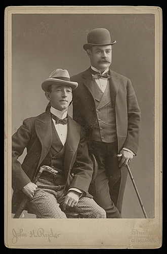 George H. Primrose - George Primrose and Lew Dockstader in 1898