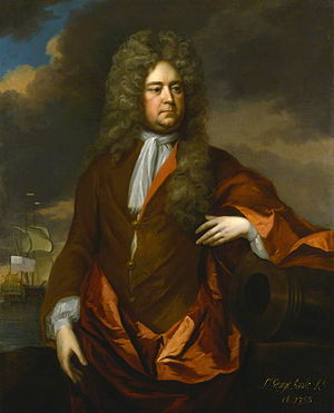 George Rooke - George Rooke by Michael Dahl painted c. 1705