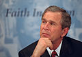 George W. Bush at announcement of Faith-Based Initiative.jpg