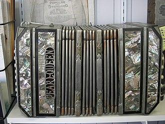 Chemnitzer concertina - Pearl Queen by Otto Schlicht