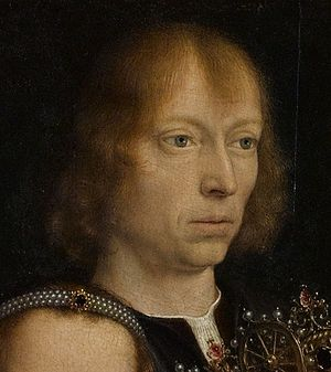 Gerard David - Image: Gerard David selfportrait in The Virgin among the Virgins