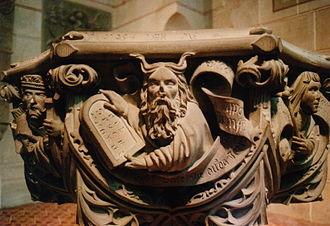 Bad Urach - Image: Germany Bad Urach Moses Font