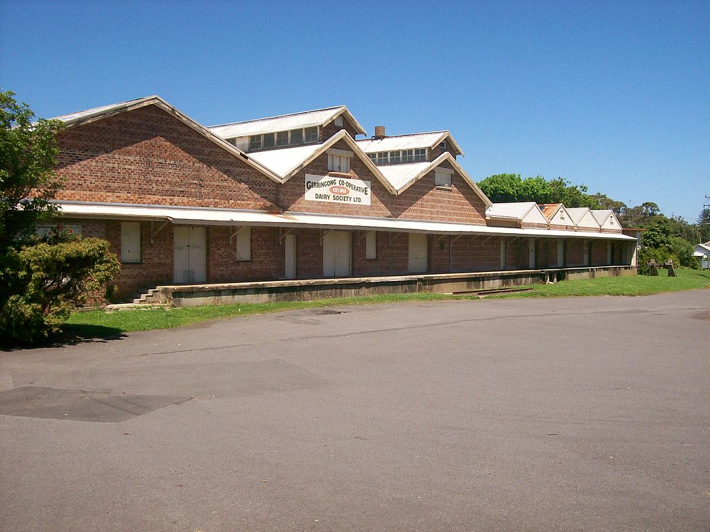 File Gerringong Railway Station Dairy Siding Jpg Wikipedia