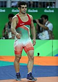 Ghasem Rezaei at the 2016 Summer Olympics.jpg