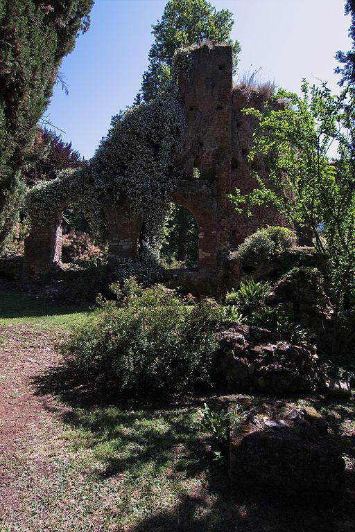 File Giardino Di Ninfa Rudere Di Abitazione Medievale All