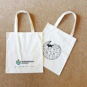 Gifts for Participant's for Wiki Mrebawani II - Tote bag.jpg