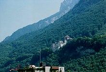 Il castello di Vaduz residenza ufficiale dei principi del Liechtenstein