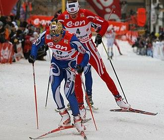 Giorgio Di Centa - Di Centa at the 2007 Tour de Ski in Prague.